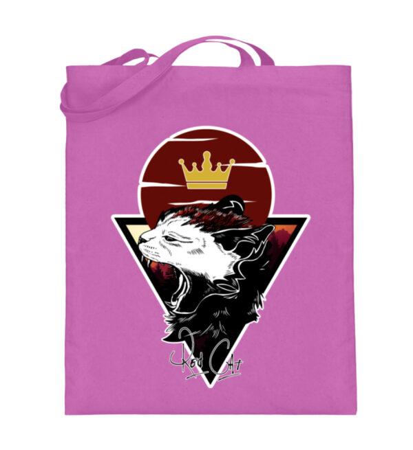 Red Cat Logo Beutel - Jutebeutel (mit langen Henkeln)-5759