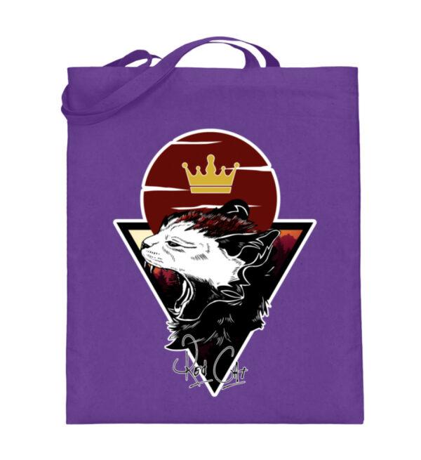 Red Cat Logo Beutel - Jutebeutel (mit langen Henkeln)-5763