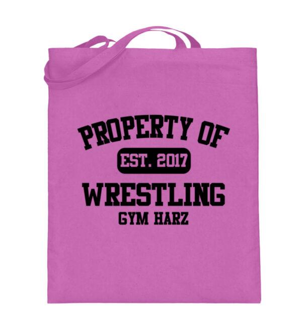 Property Wrestling Gym Beutel - Jutebeutel (mit langen Henkeln)-5759