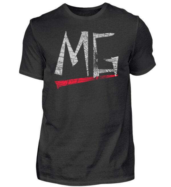 MG Glas Logo - Herren Shirt-16