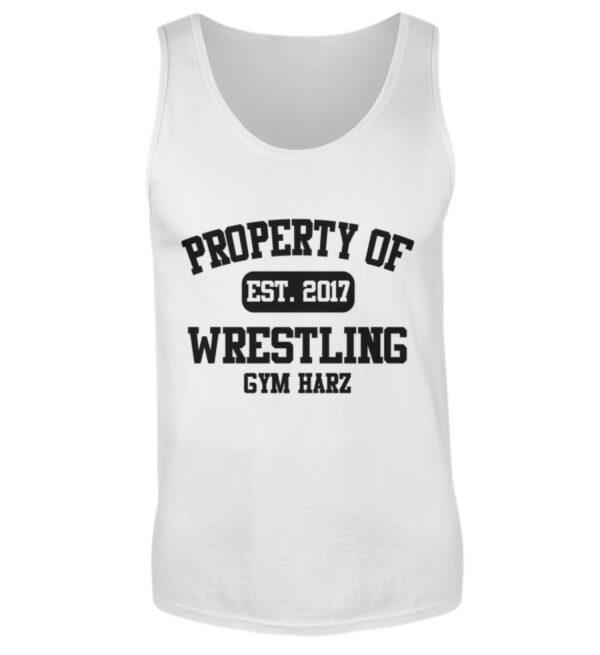 Property Wrestling Gym Tanktop - Herren Tanktop-3