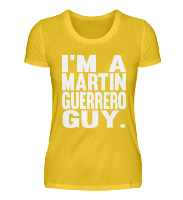 Martin Guerrero Guy Girlie - Damenshirt-3201