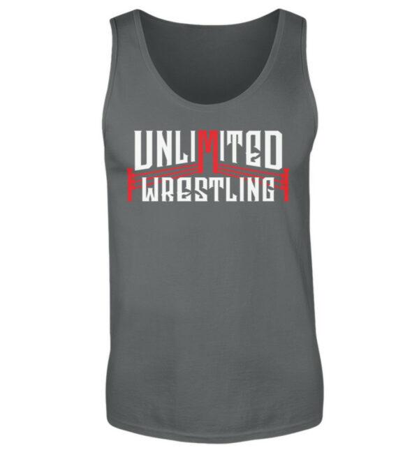 Unlimited Wrestling Logo Tanktop - Herren Tanktop-70