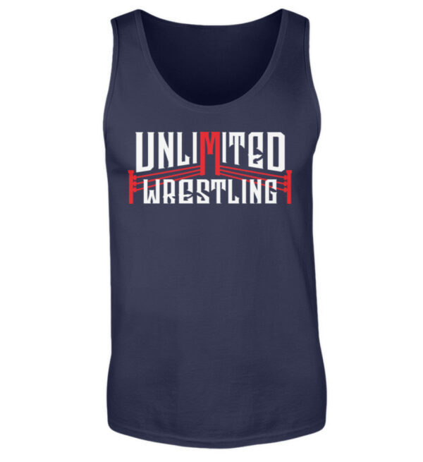 Unlimited Wrestling Logo Tanktop - Herren Tanktop-198