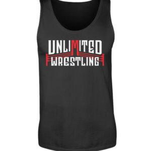Unlimited Wrestling Logo Tanktop - Herren Tanktop-16