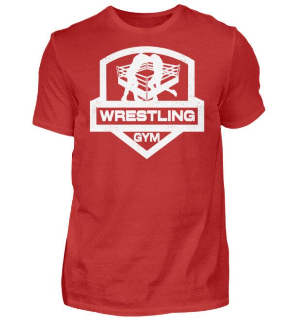 Wrestling Gym - Herren Shirt-4