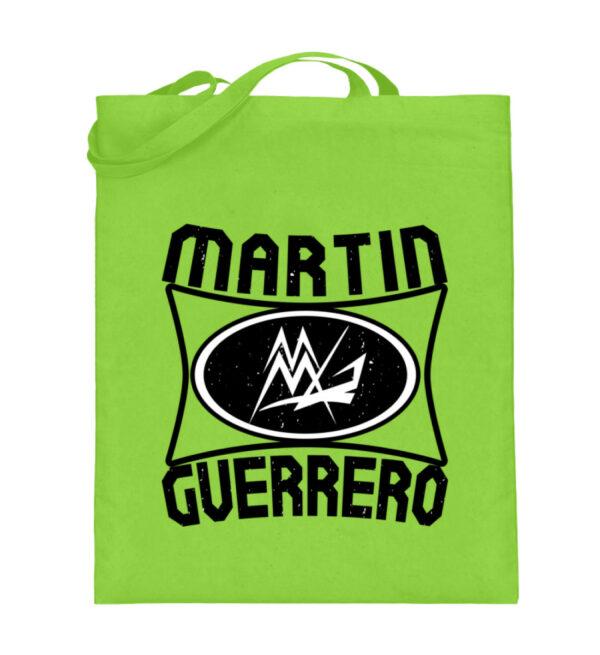 Martin Guerrero Oval - Jutebeutel (mit langen Henkeln)-5753