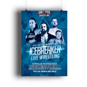 Unlimited IceBreaker 2019 Poster - DIN A3 Poster (hochformat)-3