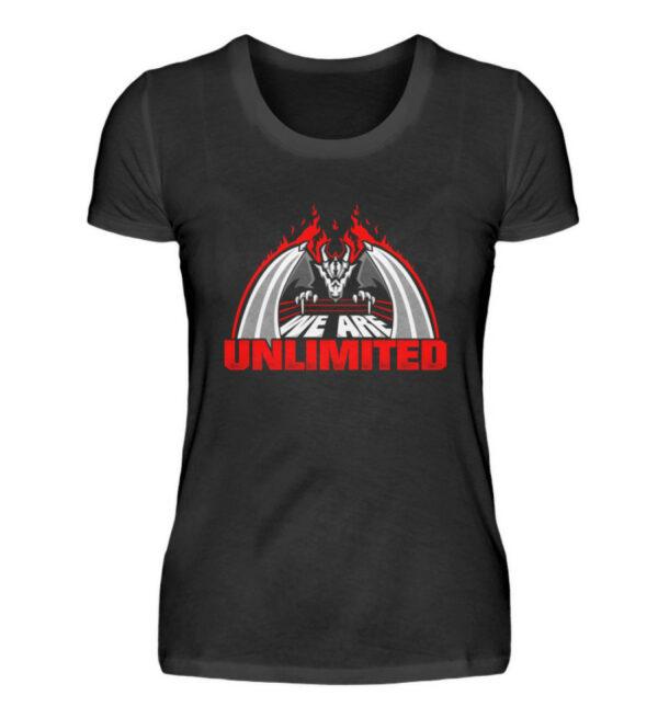 Unlimited Dragon Girlie - Damenshirt-16