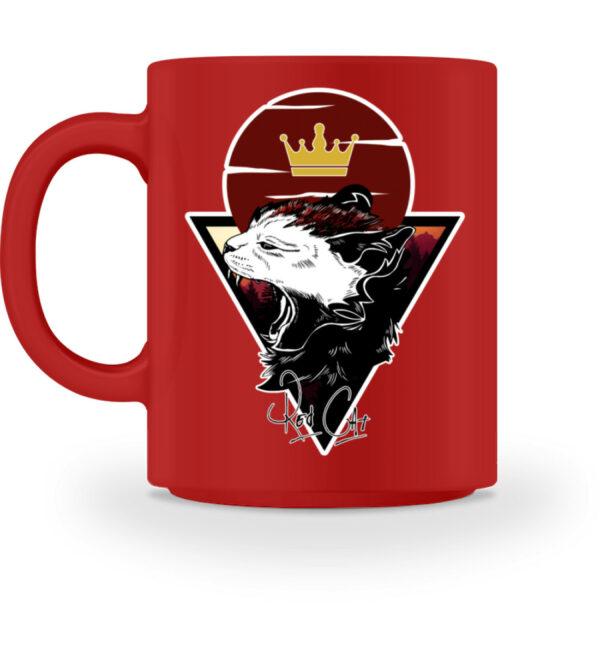Red Cat Logo Tasse - Tasse-4