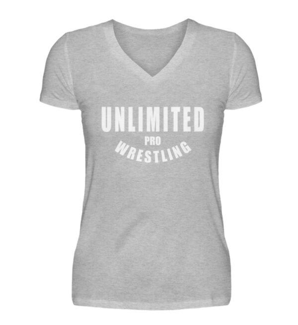 Unlimited Pro Girlie Vneck - V-Neck Damenshirt-17