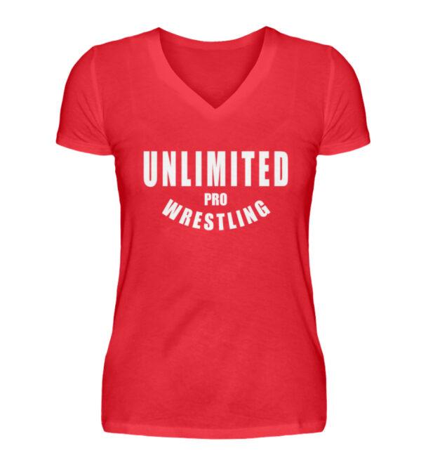 Unlimited Pro Girlie Vneck - V-Neck Damenshirt-2561