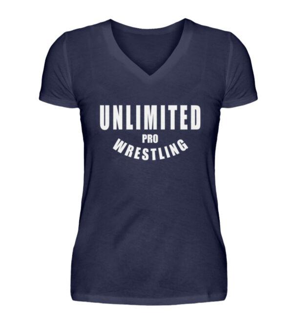 Unlimited Pro Girlie Vneck - V-Neck Damenshirt-198