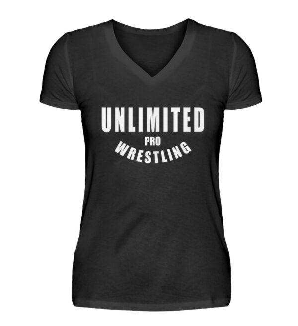 Unlimited Pro Girlie Vneck - V-Neck Damenshirt-16