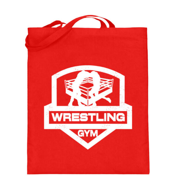 Wrestling Gym Beutel - Jutebeutel (mit langen Henkeln)-5761