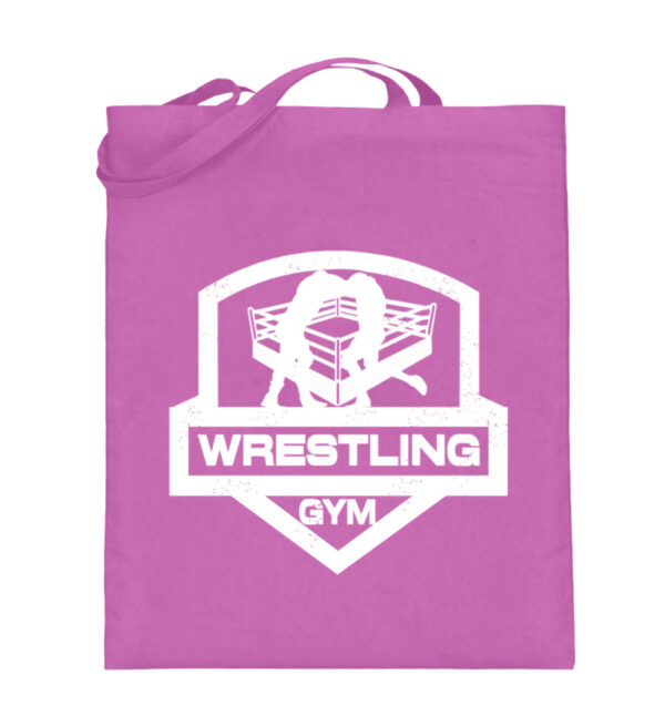 Wrestling Gym Beutel - Jutebeutel (mit langen Henkeln)-5759