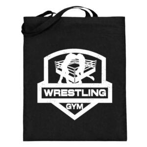 Wrestling Gym Beutel - Jutebeutel (mit langen Henkeln)-16