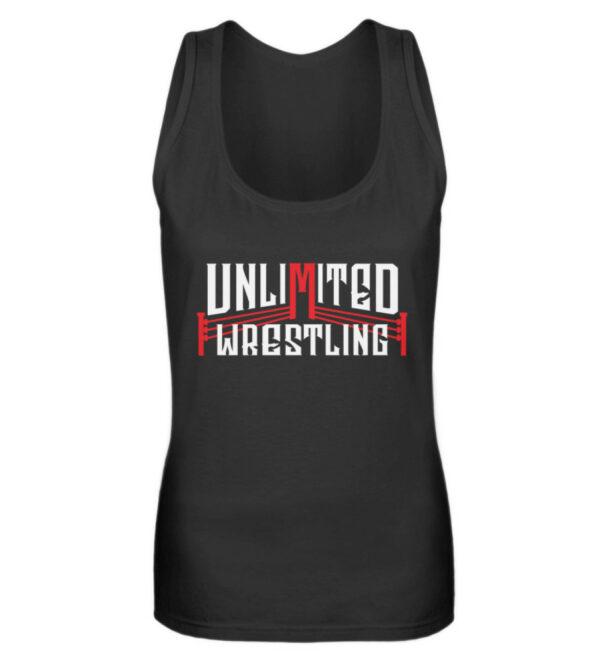 Unlimited Wrestling Logo Girlie Tanktop - Frauen Tanktop-16
