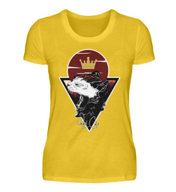 Red Cat Logo Girlie - Damenshirt-3201