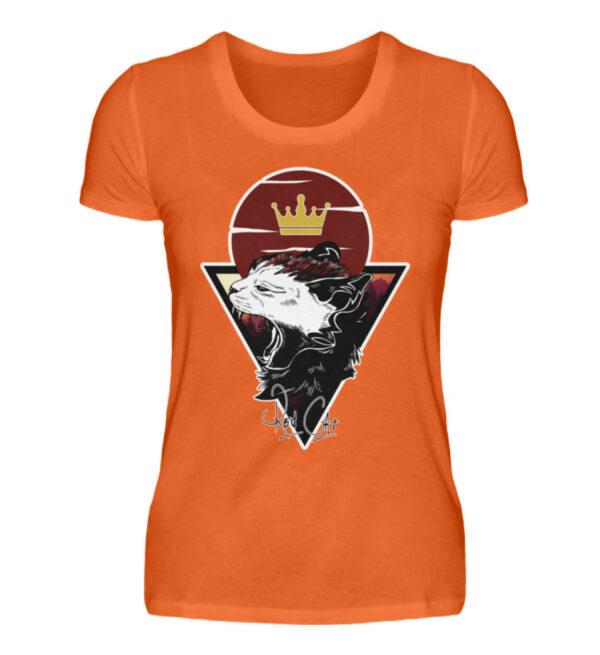 Red Cat Logo Girlie - Damenshirt-1692