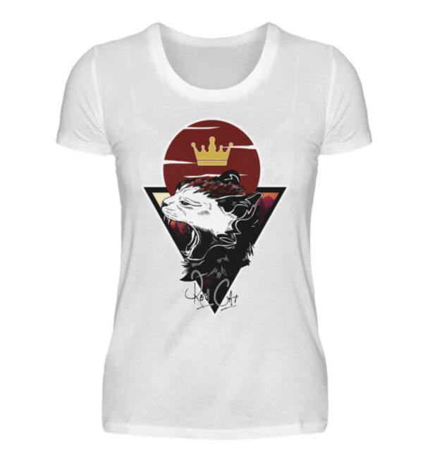 Red Cat Logo Girlie - Damenshirt-3