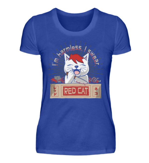 Red Cat Harmless Girlie - Damenshirt-2496