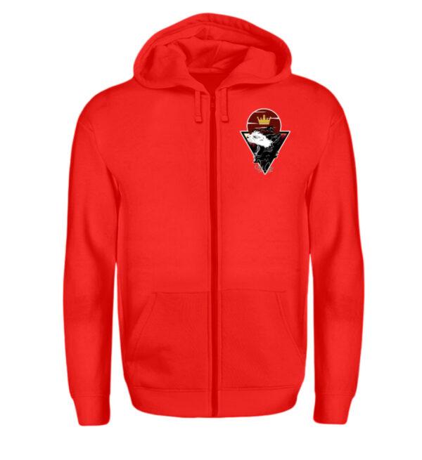 Red Cat Logo Zipper - Zip-Hoodie-5761