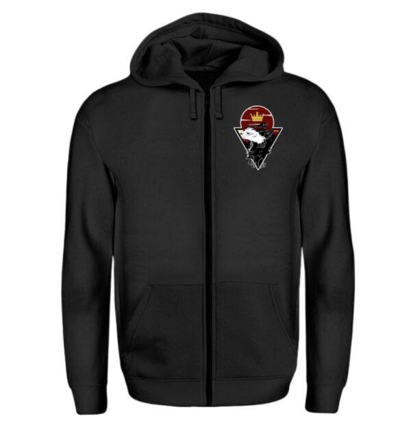 Red Cat Logo Zipper - Zip-Hoodie-16