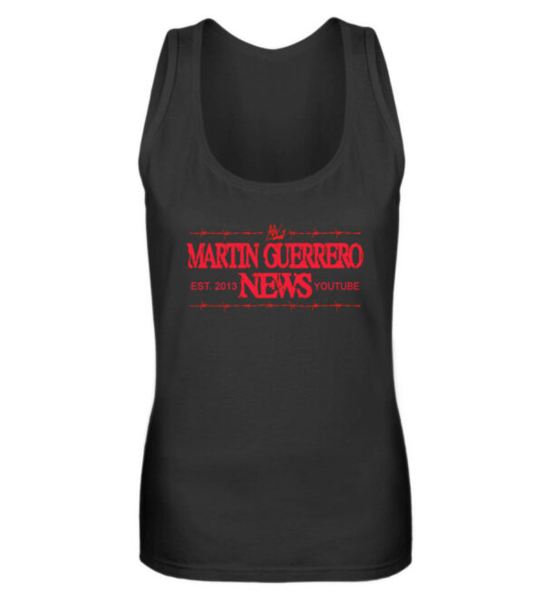 Martin Guerrero News Girlie Tank-Top - Frauen Tanktop-16