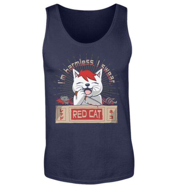 Red Cat Harmless Tanktop - Herren Tanktop-198
