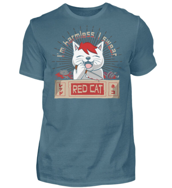 Red Cat Harmless Shirt - Herren Shirt-1230