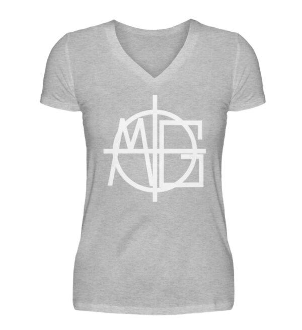 MG Target Girlie Vneck - V-Neck Damenshirt-17