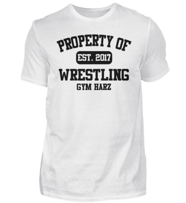 Property Wrestling Gym Harz - Herren Shirt-3