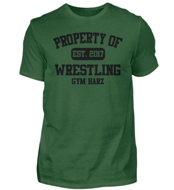 Property Wrestling Gym Harz - Herren Shirt-833
