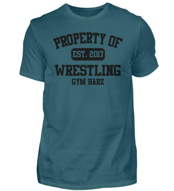 Property Wrestling Gym Harz - Herren Shirt-1096