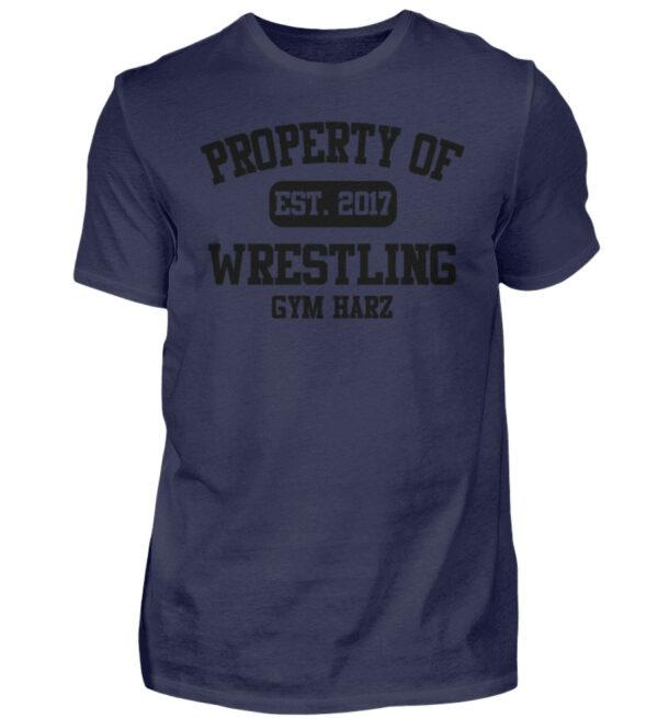 Property Wrestling Gym Harz - Herren Shirt-198