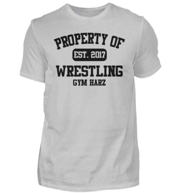 Property Wrestling Gym Harz - Herren Shirt-1157