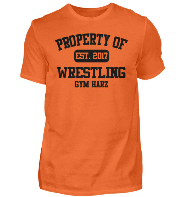Property Wrestling Gym Harz - Herren Shirt-1692