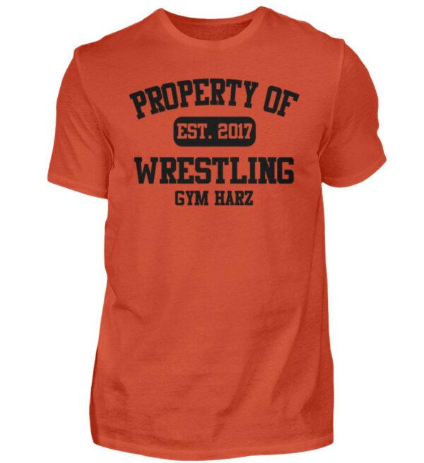 Property Wrestling Gym Harz - Herren Shirt-1236