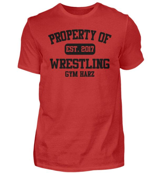 Property Wrestling Gym Harz - Herren Shirt-4