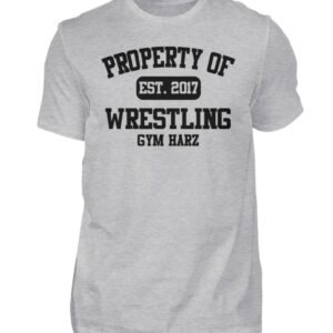 Property Wrestling Gym Harz - Herren Shirt-17