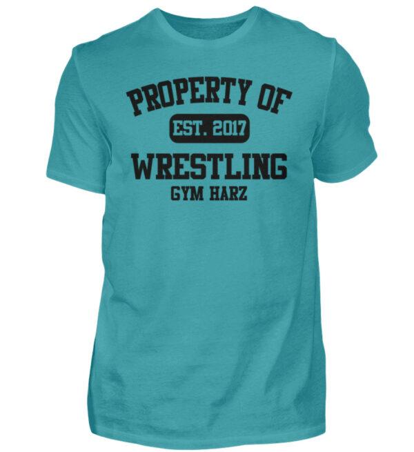 Property Wrestling Gym Harz - Herren Shirt-1242