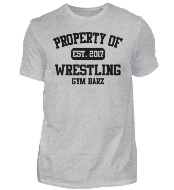 Property Wrestling Gym Harz - Herren Shirt-17
