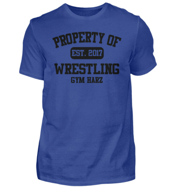 Property Wrestling Gym Harz - Herren Shirt-668