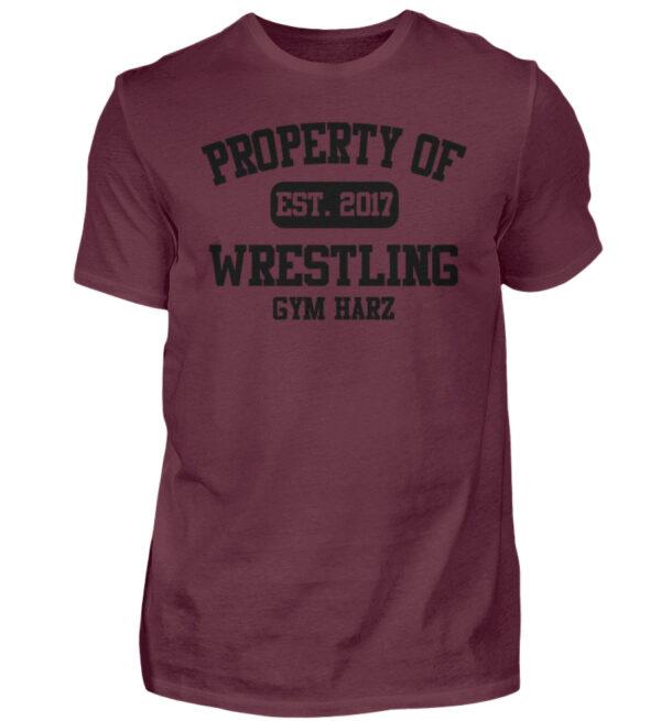 Property Wrestling Gym Harz - Herren Shirt-839