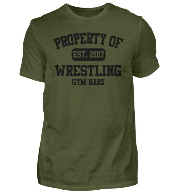 Property Wrestling Gym Harz - Herren Shirt-1109