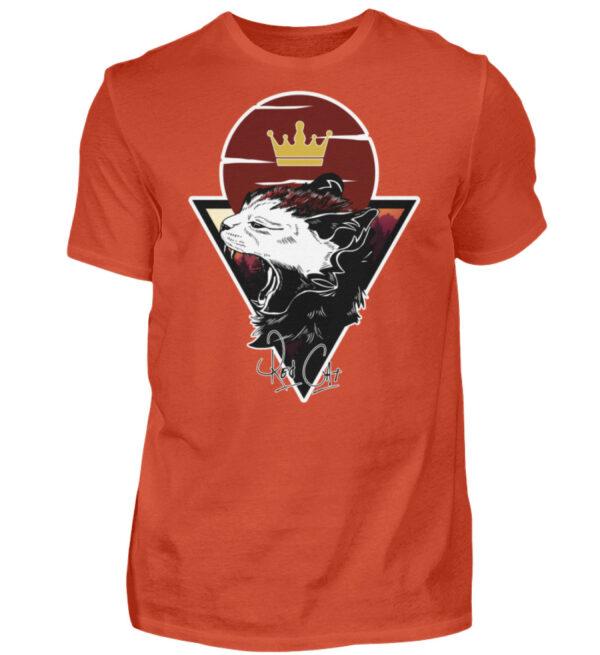 Red Cat Logo Shirt - Herren Shirt-1236