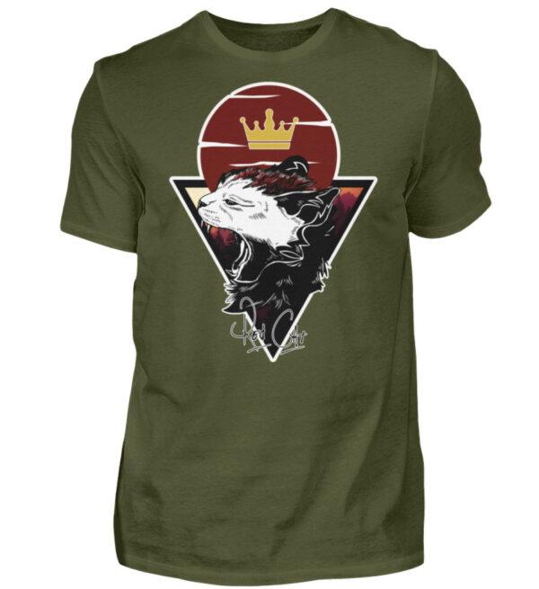 Red Cat Logo Shirt - Herren Shirt-1109