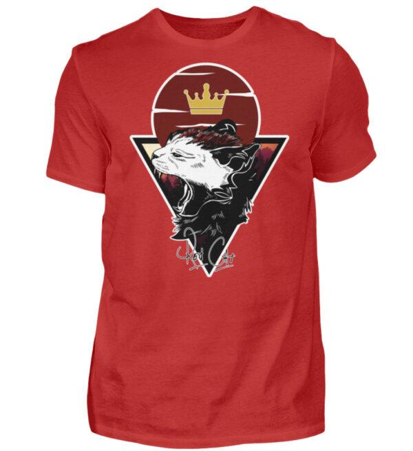 Red Cat Logo Shirt - Herren Shirt-4