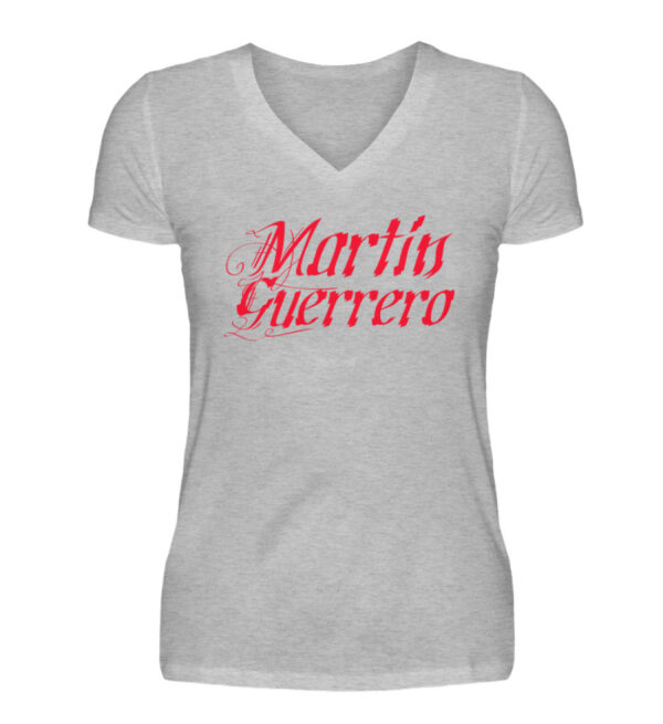 Martin Guerrero Latino Girlie Vneck - V-Neck Damenshirt-17